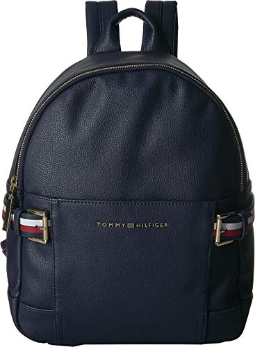 Tommy Hilfiger Women's Meriden Pebble PVC Backpack Tommy Navy One Size