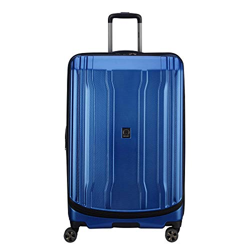 "DELSEY Paris Luggage Cruise Lite Hardside 2.0 29"" Checked Expandable Suitcase, Blue"
