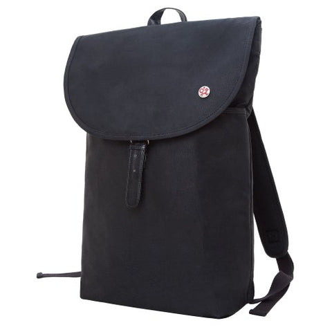 Token Bags Bergen Waxed Backpack, Black, One Size