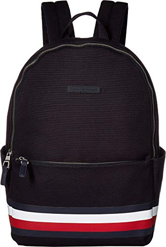 Tommy Hilfiger Men's Stephan Corporate Stripe Canvas Backpack Tommy Navy One Size
