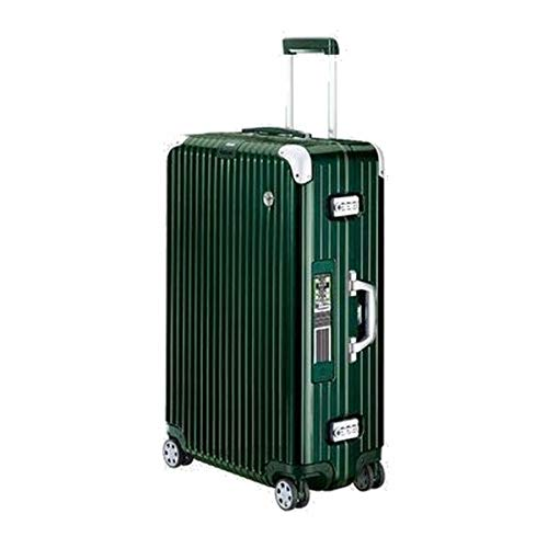 RIMOWA Lufthansa Elegance Collection suitcase 86.5L Electronic Tag Racing green