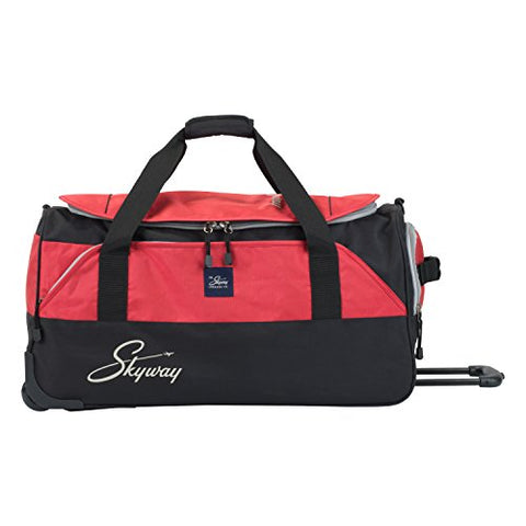 Skyway Sodo 26-inch Rolling Duffel, True Red