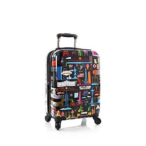 "Heys America FVT USA 21"" Spinner Luggage (Multicolor)"