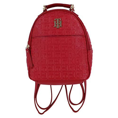 Tommy Hilfiger Red Mini Fashion Backpack
