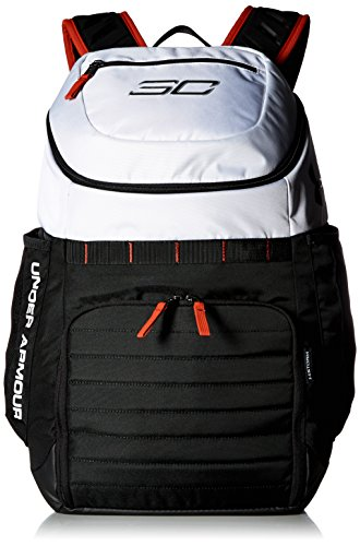 Under Armour SC30 Undeniable Backpack,White (100)/Black, One Size
