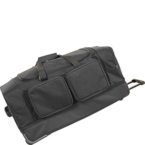 "Netpack Summer 30"" Wheeled Duffel (Black)"