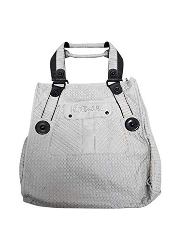 Diesel Handbag 00BB69PR457T8027 Hand Luggage, 30 cm, 6 liters, White (Weiß)