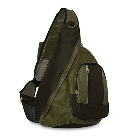 Everest Sling Bag, Olive/Black