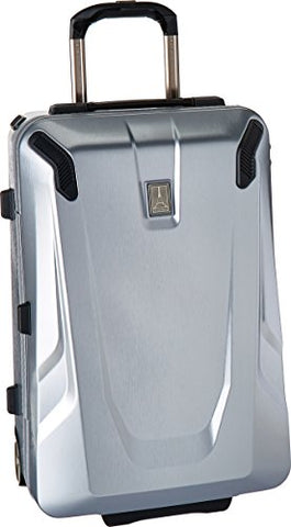"Travelpro Crew 11 22"" Hardside Rollaboard Carry-On Suitcase, Silver"