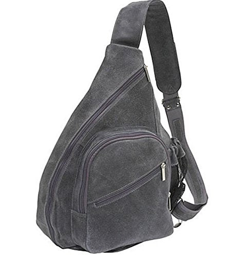 David King & Co. Backpack Style Cross Body Bag Distressed, Grey, One Size
