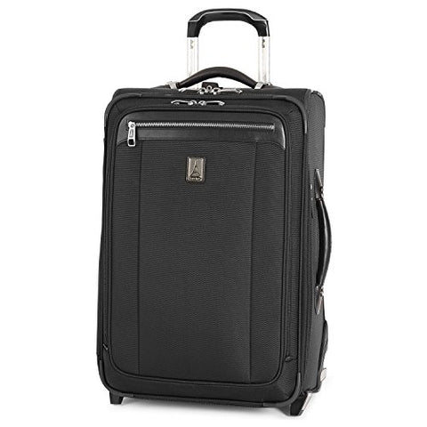 Travelpro Platinum Magna 2 Carry-On Expandable Rollaboard Suiter Suitcase, 22-in., Black