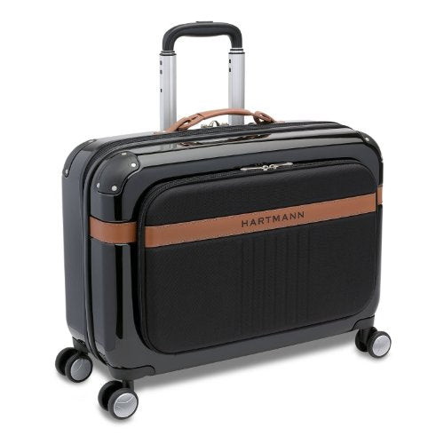 Hartmann Luggage 4 Pack Expandable Garment Bag Spinner, Midnight, One Size