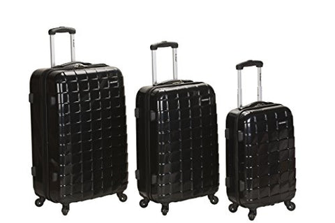 Rockland Luggage Celebrity 3 Piece Luggage Set, Black, One Size