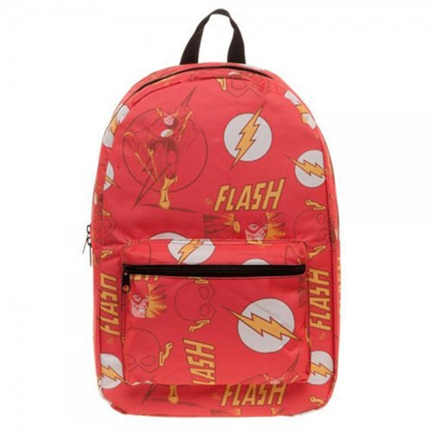 The Flash Logo Sublimated School Backpack