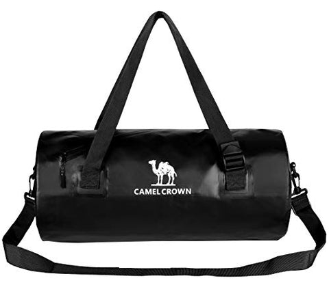 Camel Crown Waterproof Duffel Bag 26L Pvc Airtight Messengerbag Travel Backpack