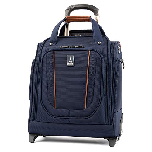 Travelpro Crew Versapack Rolling Underseat Carry-on, Patriot Blue