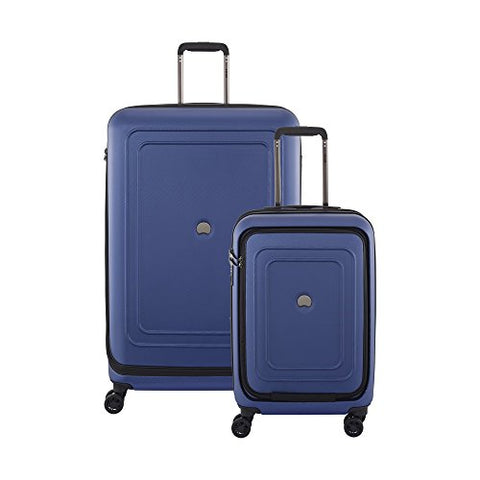 "Delsey Luggage Cruise Lite Hardside Luggage Set (21""/29""), Blue"