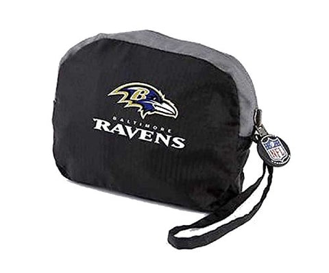 Athalon Nfl Transformers Foldable Water Resistant Backpack, Baltimore Ravens. 176Bal