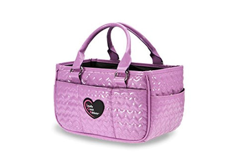 Tga Lavender Heart Ice Skating Bag Tennis Gym And Ballet Girls Athletic Bag