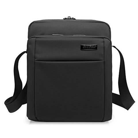 Coolbell 10.6 Inches Shoulder Bag Oxford Cloth Messenger Bag Ipad Carrying Case Functional Hand Bag