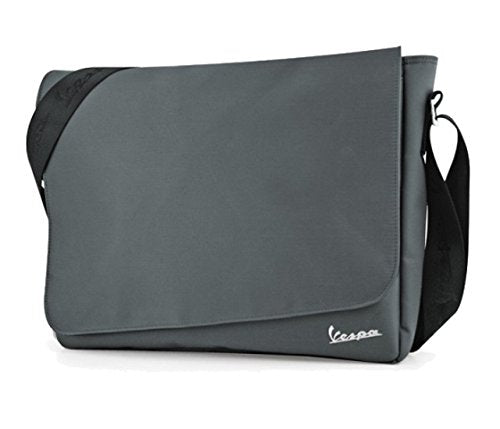 Vespa Nylon Messenger Bags - Gray