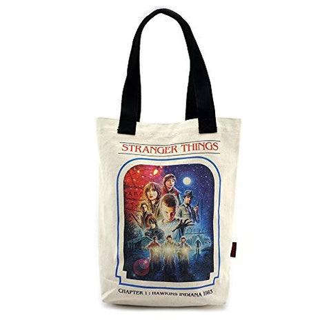 Loungefly x Stranger Things Chapter 1 Canvas Tote Bag