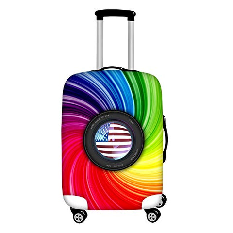 "Youngerbaby Flag Spandex Travel Suitcase Elastic Luggage Protective Covers18""-30"""
