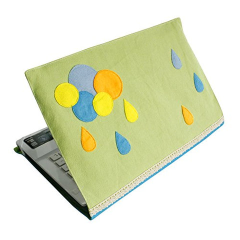 [Rainy Day] Simple Design Laptop Shell Customized Canvas Notebook Shell