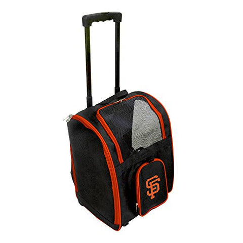 Sports Bags By Mojolicensing Mlb Premium Pet Carrier Bag With Wheels