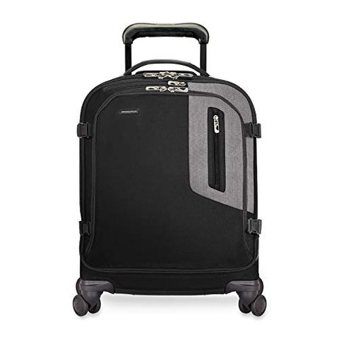 "Briggs & Riley Explore International Wide-Body 21"" Spinner, Black, One Size"