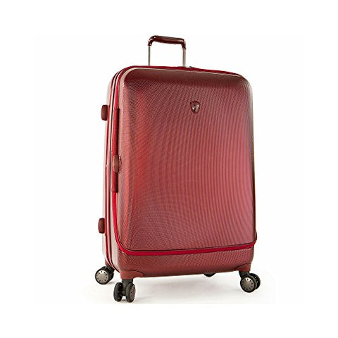 "Portal 30"" Spinner Suitcase Color: Burgundy"