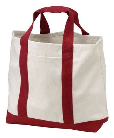 Port & Company - 2-Tone Shopping Tote Bag