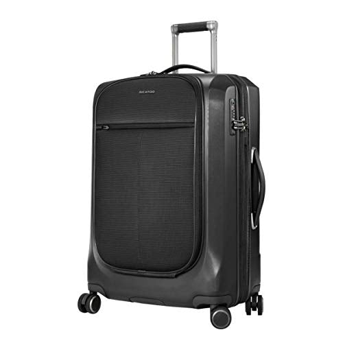 Ricardo Cupertino 25-inch Spinner Suitcase in Black