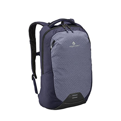 Eagle Creek Wayfinder 20L Backpack-multiuse-15in Laptop Hidden Tech Pocket Carry-On Luggage, Night Blue/Indigo