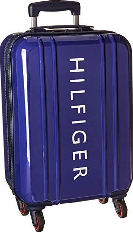 "Tommy Hilfiger Unisex 21"" Maryland Hardside Upright Suitcase Navy One Size"
