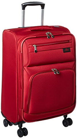 Skyway Sigma 5.0 21-Inch 4 Wheel Expandable Carry On, Merlot Red