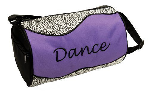 Dansbagz Silver Sizzle Duffel Bag One Size Purple