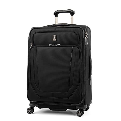 "Travelpro Crew Versapack 25"" Expandable Spinner Suiter, Jet Black"