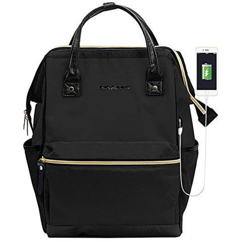 KROSER Laptop Backpack 15.6 Inch Stylish Computer Backpack School Backpack Casual Daypack Laptop