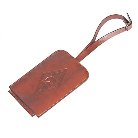 Discovery Adventures - Logo Luggage Tag Brown Standard One Size