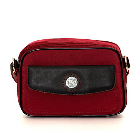 Jill-E Designs Nylon Essential Camera Bag, Red (340979)