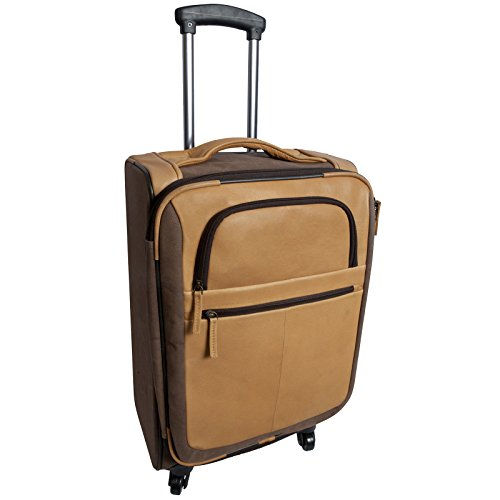 Canyon Outback Switzer Canyon 22-Inch Spinner Carry-On Upright Suitcase, Brown, One Size