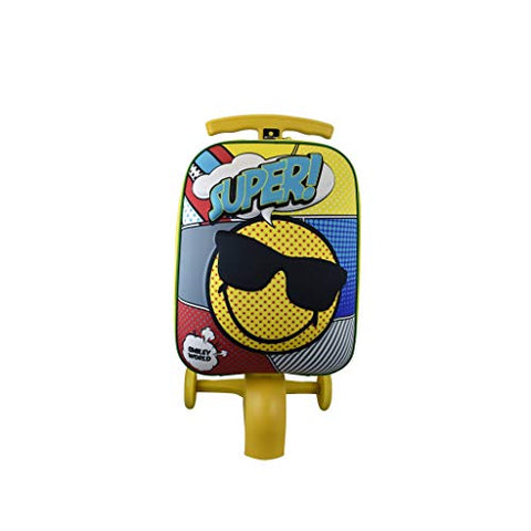 ATM Kid's Super Cool Smiley Scootie Luggage