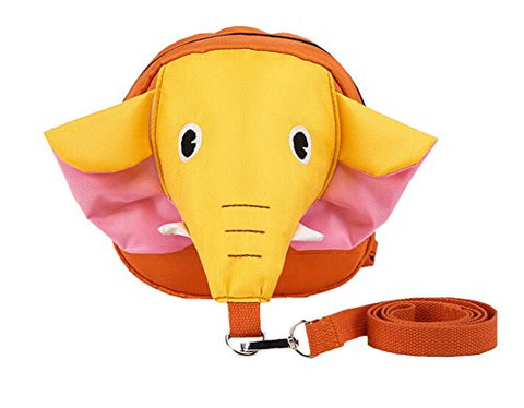 3D Unique Kids Backpack Anti-Lost Baby Bag Fashion Backpack [Elephant Yellow]