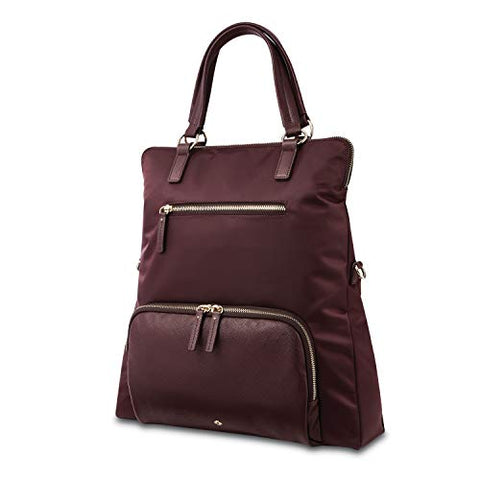 Samsonite Encompass Womens Convertible Tote Backpack Bordeaux