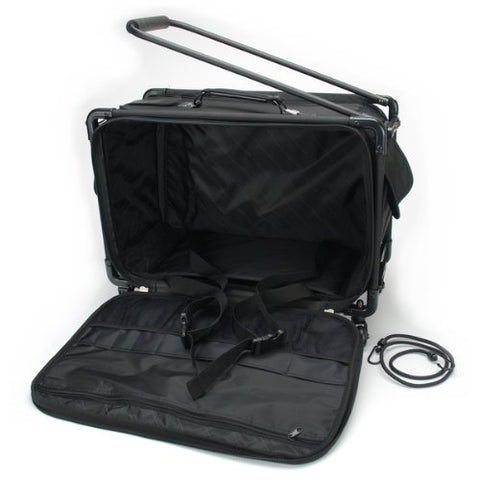 "Tutto Machine On Wheels Case 21""X13-1/4""X12""-Black"