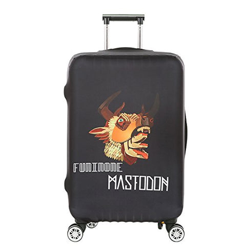 "Dofover 18""/20""/24""/28""/32"" Creative Printed Luggage Cover Spandex Travel Suitcase Protective Cover"