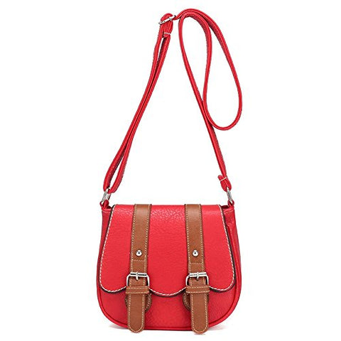 Bibitime Casual Summer Beach Women Shoulder Crossbody Messenger Bag With 2 Belts Cross Body Bag