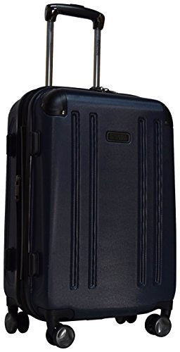"Kenneth Cole Reaction 8 Wheelin Expandable Luggage Spinner Suitcase 20"" (Navy)"