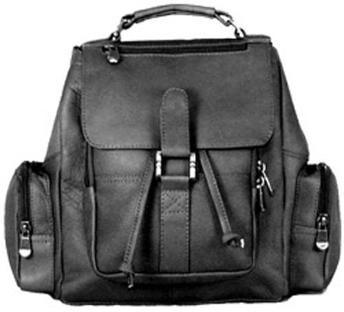 David King & Co. Mid Size Top Handle Backpack, Black, One Size